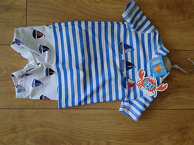 Next nwts baby boys sunsafe swimsuit age 6 to 9 months