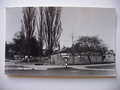 The School, Braunston - 1970 real photograph
