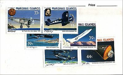 Marshall Islands Stamp Lot Scott 137a, 139a, 141a MNH Low combined Shipping