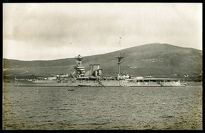 "HMS ""WARSPITE"" Battleship (Fought in WW1 & WW2). After 1924-25 Refit. c1926 RP"