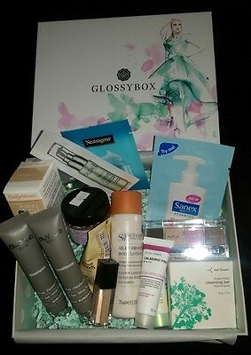 Glossybox. Skincare, hair care & make-up mixed bundle,  x15 items