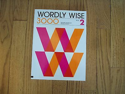 Wordly Wise 3000 Book 2 Paperback by Hodkinson & Adams