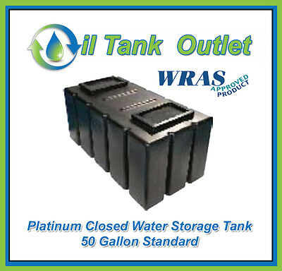 Closed  Water Storage Tank 50 Gallon Standard  - WRAS Approved