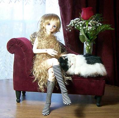 OOAK Custom Chaise Lounge  for  MSD & SD Ball Jointed Dolls BJD by Lyla
