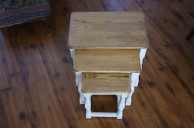 Nest of  three Stacking coffee tables