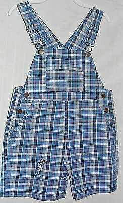 NEW Infant Overall Bib/Shorts Boston Color 24 Months Dolphin Ball Red/White/Blue
