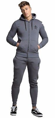 Gym King Full Tracksuit Top Bottoms S M L XL