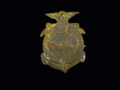 Wwi Era War Service Ship Building Supervisor Badge