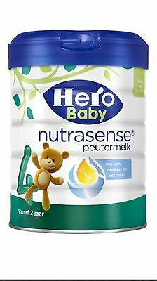 4 X Hero Baby 4 Nutrasense Standaard from 2Years.100% Original Dutch Baby Powder