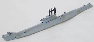 Vintage Tri-ang Minic Waterline Ship M 817 - Submarine A Class - Excellent