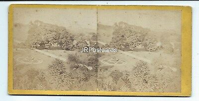 Vintage Stereoview ~ Oxton ~ Nottinghamshire ~ View 1