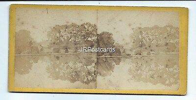 Vintage Stereoview ~ Oxton ~ Nottinghamshire ~ View 3