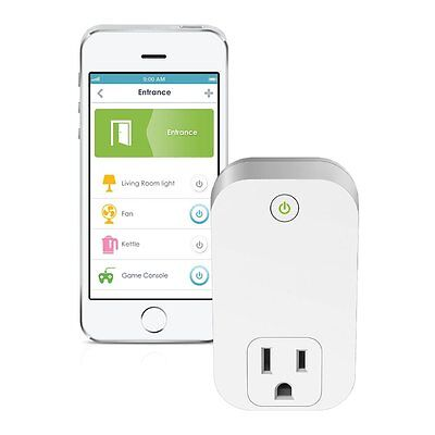 D-Link Smart Plug Wi-Fi On/Off Works with Amazon Alexa (DSP-W110) New Open Box