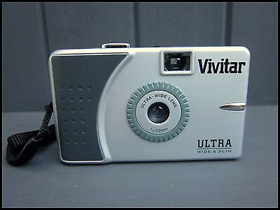 Vivitar Ultra Wide and Slim 35mm Compact Film Camera BOXED NEW