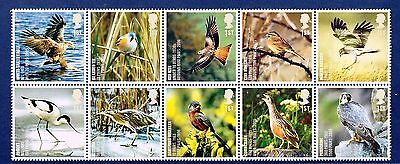 GB 2007 Birds set of 10 Stamps SG 2764-2773 MNH