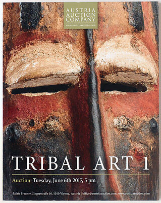 Tribal Art, Austrian Auction Company auction catalogue 2017