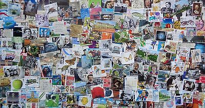 GB Kiloware 250 stamps inc High Values & Multi Issues 2001-2017 Off Paper - J4