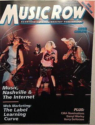 Dixie Chicks - MUSIC ROW magazine - Sept 2000 - Annie Roboff, Barry DeVorzon