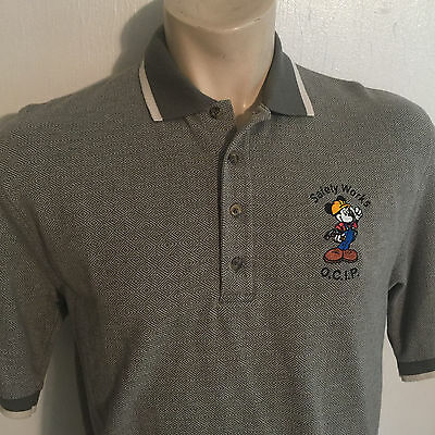 Disney World Safety Works Cast Member M Polo Shirt