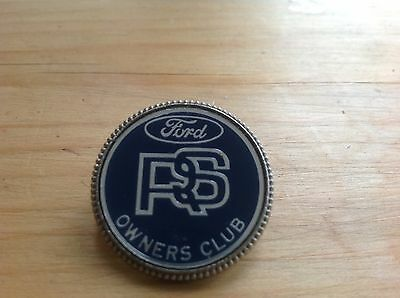 Original 80's RS Owners Club badge