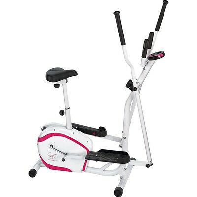 davina mccall 2 in 1 cycle elliptical bike brand new fitness gym summer body