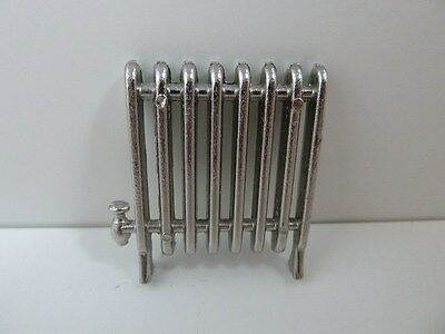 Dolls House Miniature 1:12th Scale Lounge Bedroom Accessory Metal Radiator D197