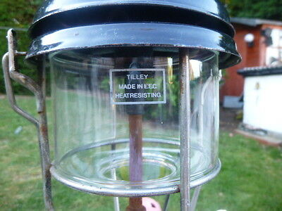 Tilley Storm Lamp * With Glass * No Mantle * Low Reserve