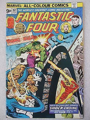 Fantastic Four  #167 (1976)  featuring The Hulk.   VFN