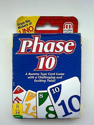 Phase 10 Family Card Game - From the Makers of Uno -