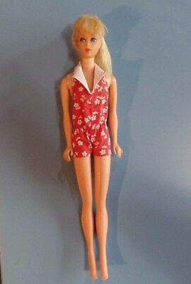 Vintage Barbie Doll - Mod Era Yellow Blonde Standard Barbie Doll