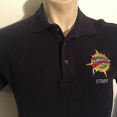 ISLANDS OF ADVENTURE STAFF Universal Studios M POLO SHIRT