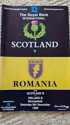 Scotland rugby programme