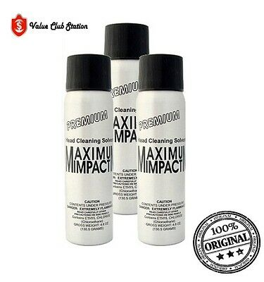 SVT - Maximum Impact Head Cleaning Solvent - 3 PACK (FREE SHIPPING)