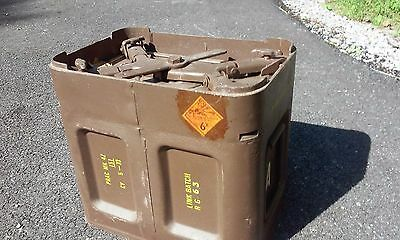 30mm ammo can for ADEN cannon super rare Vietnam dated vintage surplus military