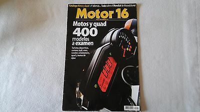 Revista Motor 16 Nº 95 Año 2006 - Catalogo Motos Y Quad