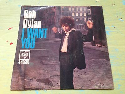 Bob Dylan I Want You USA Original 1966 Picture Sleeve Only Rare EX NO RECORD