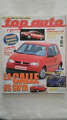 Revista Top Auto Nº 91, Año 1997 - Seat Arosa 1.4 Star