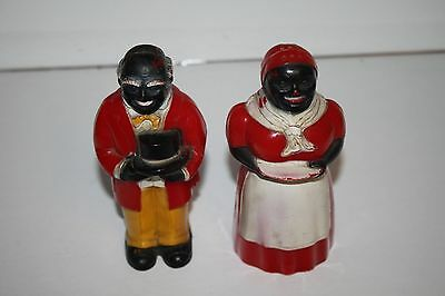 Aunt Jemima And Uncle Moses Salt And Pepper Set