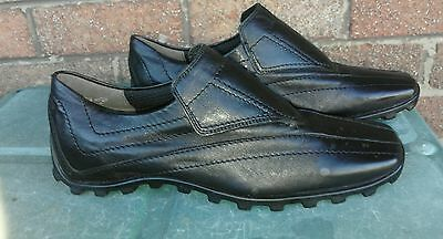 Ladies quality K+S leather flats shoes size 4.5 (new )
