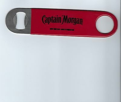 New Ultra Rare Stunning Captain morgan Rum Rubber Coated BOTTLE OPENER!!