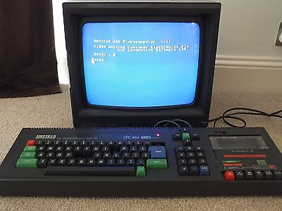 Amstrad CPC 464 with colour monitor & loads of games
