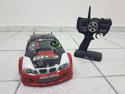 Auto a Scoppio Thunder Tiger TS4n 1/10 2 Marce BMW M3 2.4Ghz COMPLETA
