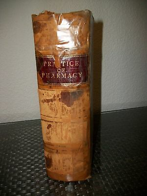 Rare 129 Year Old Remington Practice Of Pharmacy Apothecary 1St Edition? 1888
