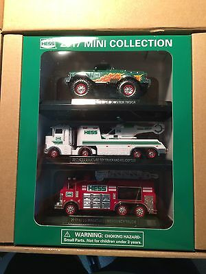 2017 Hess Mini Collection  - Hess Toy Trucks - Free Domestic Shipping