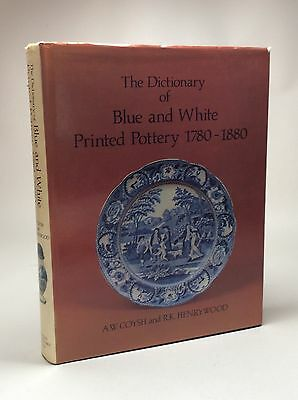 Book The Dictionary of Blue and White Printed Pottery 1780-1880. Delft Porcelain