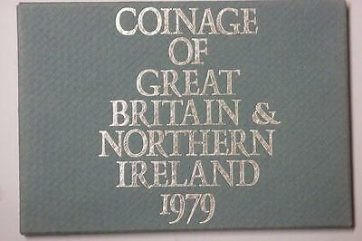 1979 COINAGE OF GREAT BRITAIN AND NORTHERN IRELAND 6 COIN PROOF SET #5558 med