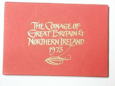 1973 COINAGE OF GREAT BRITAIN AND NORTHERN IRELAND 6 COIN PROOF SET #3235 med