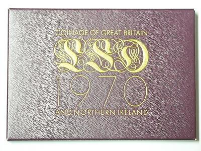 1970 COINAGE OF GREAT BRITAIN AND NORTHERN IRELAND 8 COIN PROOF SET #1822 med