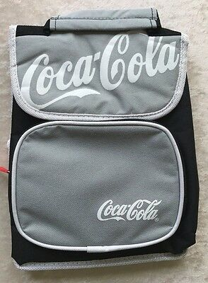 Coca Cola Coke Lunch Bag Tote Box Soft Side Insulated Cooler Never Used NWOT