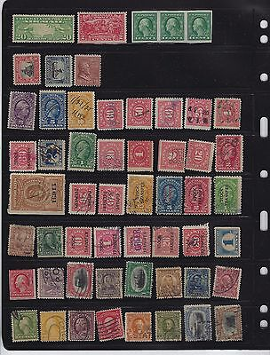 United States Stamp Collection in Mixed Condition